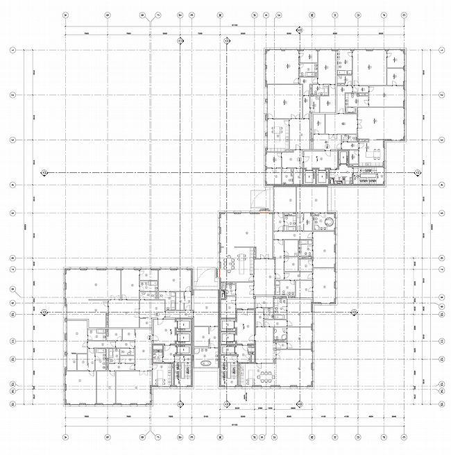 ЖК «Гранатный 6». План 3 этажа © SPEECH