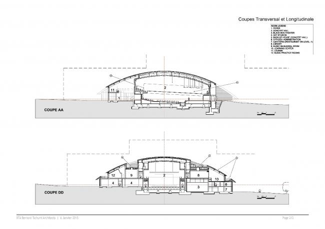 Корпус Карналей школы-пансиона «Институт Ле Розе» © Bernard Tschumi Architects