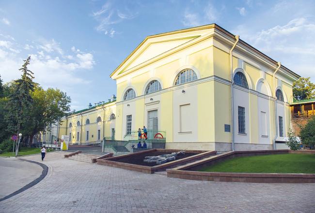 Филиал ГЦСИ в здании Арсенала в Нижнем Новгороде. Лето 2015 года. Вторая очередь строительства. Фотография © Дмитрий Степанов