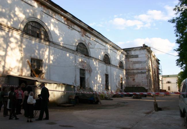Филиал ГЦСИ в здании Арсенала в Нижнем Новгороде. 2008 год. Фотография © Марина Игнатушко