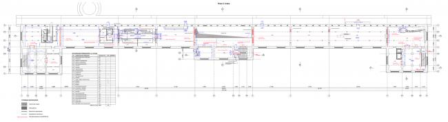 Филиал ГЦСИ в здании Арсенала в Нижнем Новгороде. План 2 этажа © Архитекторы Асс