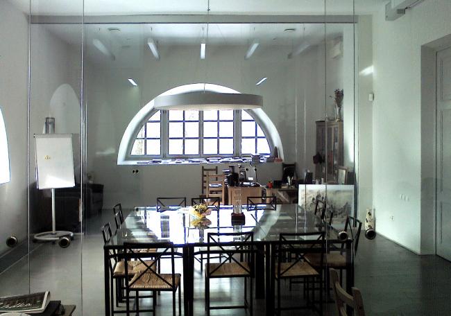 Филиал ГЦСИ в здании Арсенала в Нижнем Новгороде. Кабинет директора. 2015 год. Фотография © Марины Игнатушко