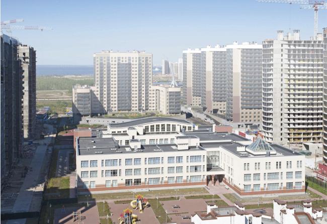 Проект школы на территории ЖК «Балтийская жемчужина»