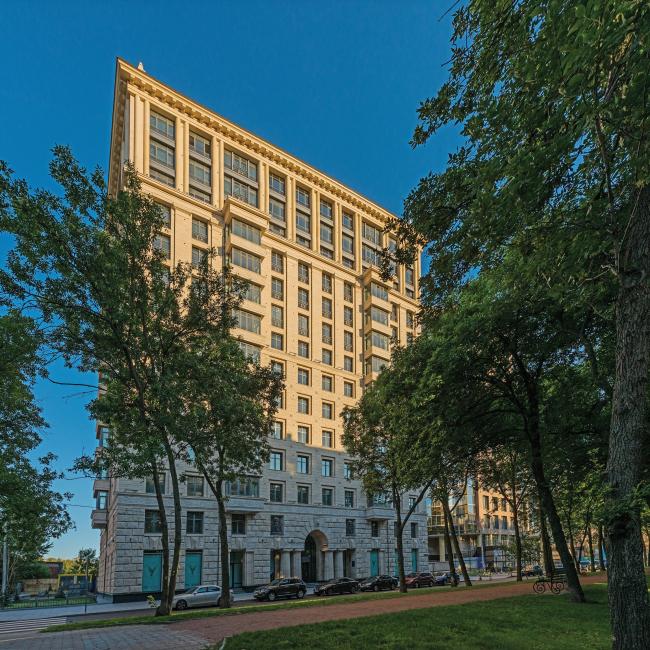 Жилой дом «Победа» в Санкт-Петербурге © «Евгений Герасимов и партнёры»