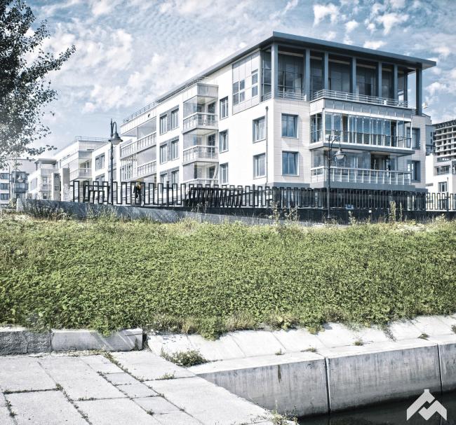 Квартал «Дудергоф клаб» © Мастерская Сергея Цыцина