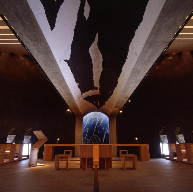 Капелла Санта-Мария-дельи-Анджели в Монте-Тамаро (Швейцария) © Enrico Cano