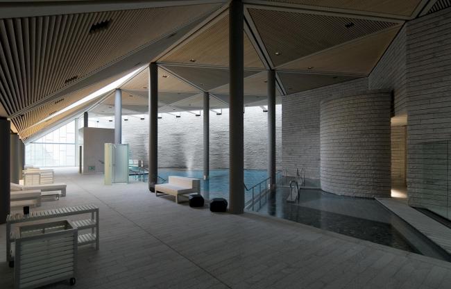 Спа-центр Tschuggen Bergoase в Аросе (Швейцария) © Enrico Cano