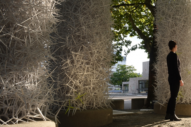 ICD Aggregate Pavilion 2015 © ICD University of Stuttgart 2015