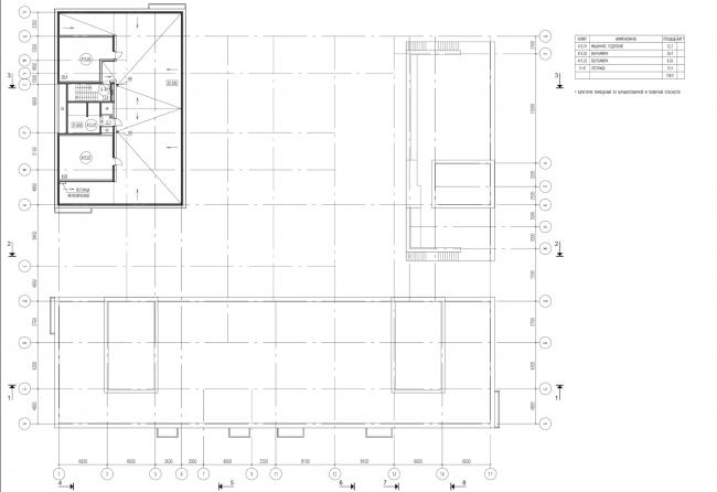 Жилой комплекс на ул. Гришина. План 15 этажа. Проект, 2015 © Сергей Киселёв и Партнеры