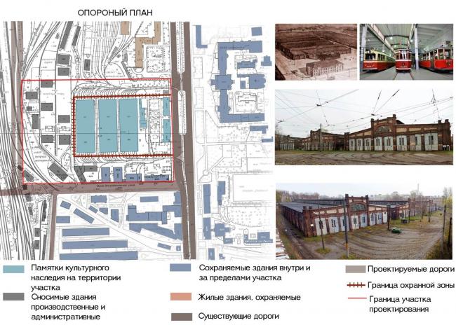 Мария Козинова. Проект гостиничного комплекса на территории Трамвайного парка №1 в Санкт-Петербурге