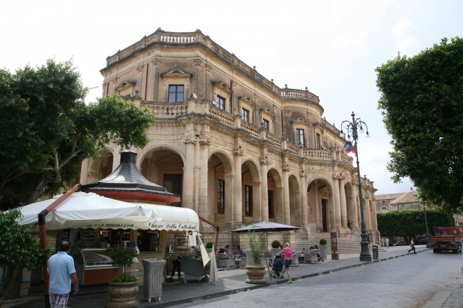 Город Ното. Сицилия. Начало XVIII в. Фотография © Сергей Эстрин