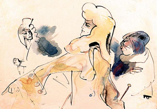 Павел Бунин. Иллюстрации. Изображение предоставлено Сергеем Эстриным