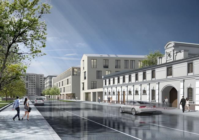 Multifunctional integrated development of the Sofiyskaya Embankment © Sergey Skuratov ARCHITECTS