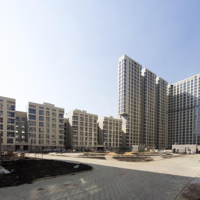 Жилой комплекс в Одинцово. Дворовые фасады © АБ Остоженка