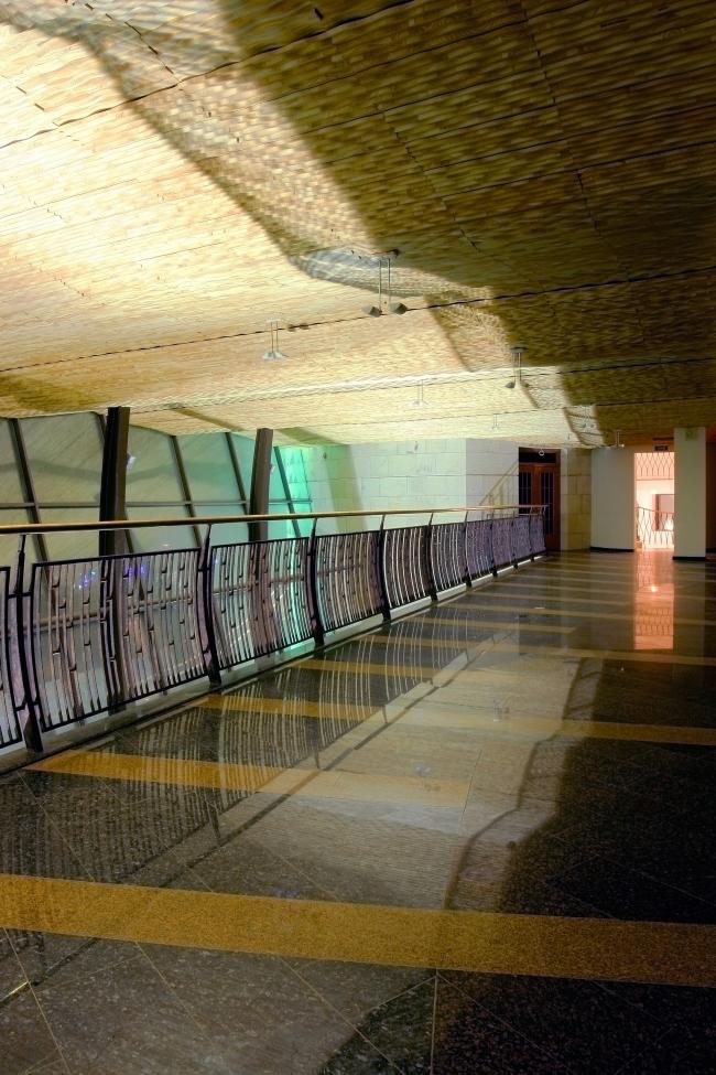 The ceiling in the atrium in the synagogue on Bolshaya Bronnaya Street © Sergey Estrin architectural studio