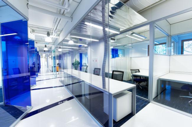 Research and development center Schlumberger © Sergey Estrin architectural studio