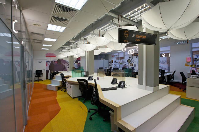 Office of the compaany Enter © Sergey Estrin architectural studio