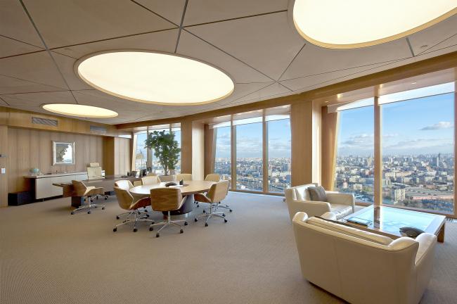 "The C.E.O′s office in ""Noedstar Development"" © Sergey Estrin architectural studio"