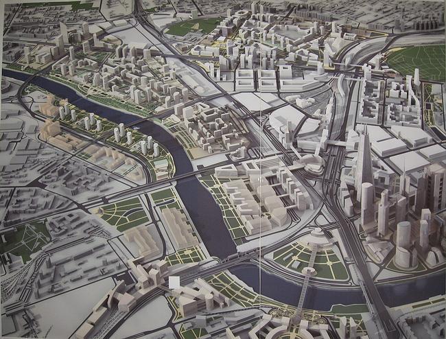 Территориальная схема развития территории, прилегающей к ММДЦ «Москва-Сити»