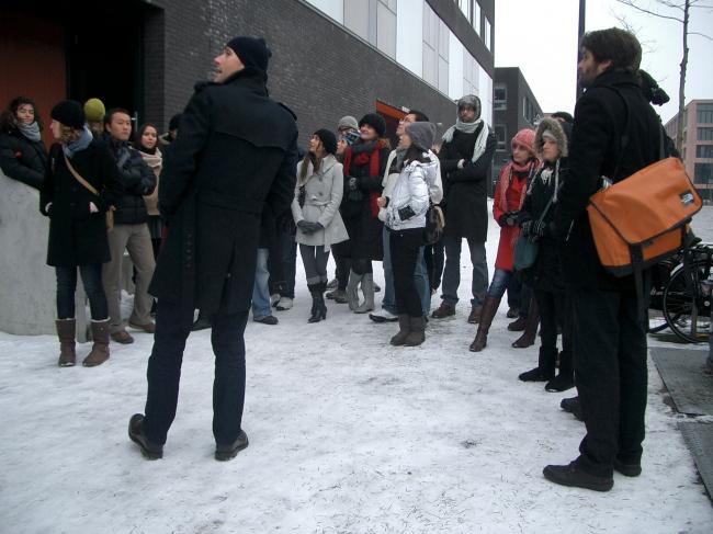Учебная поездка в Амстердам. Прогулка с голландскими архитекторами по северному району Амстердама Noord.