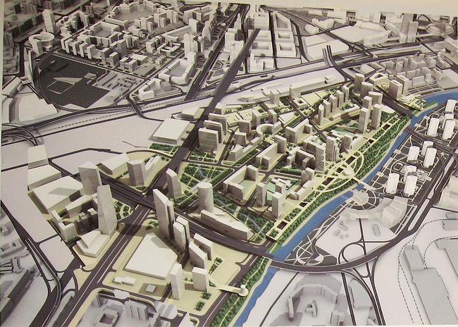 Территориальная схема развития территории, прилегающей к ММДЦ «Москва-Сити», ЦАО, ЗАО, САО, СЗАО.