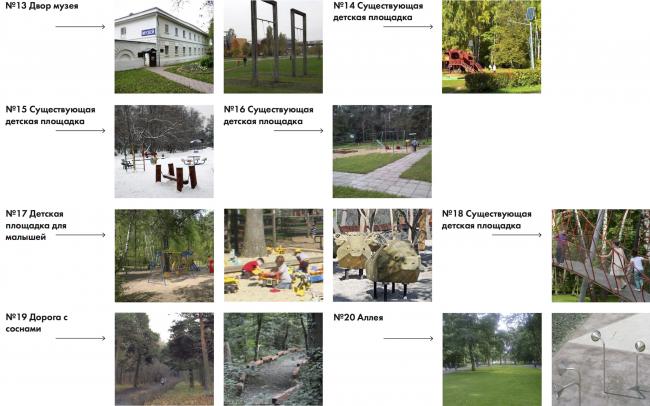 Парк «Кузьминки». Детский маршрут © Alphabet city