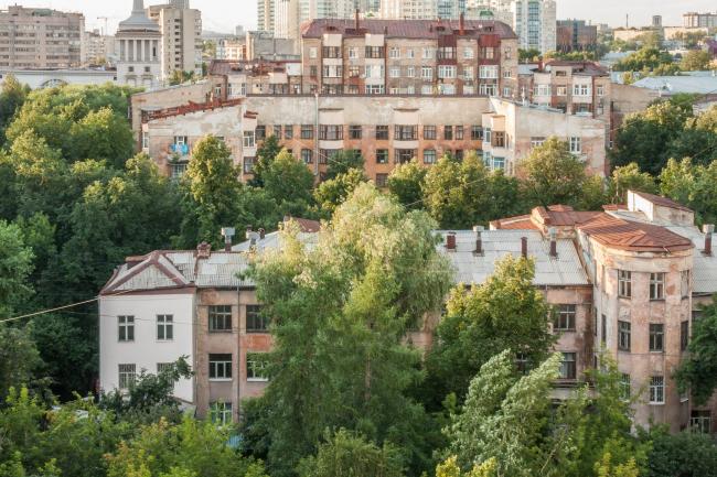 «Городок чекистов». 1932–1934. Архитекторы И.П.Антонов, В.Д.Соколов © Денис Есаков