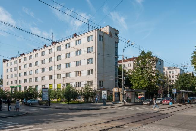 Дома Госпромурала. 1931–1933. Архитекторы Г.П. Валенков, Е.Н. Коротков © Денис Есаков