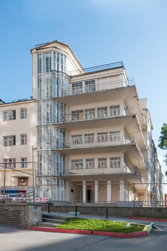 Городок юстиции. Жилой дом. 1920-е годы. Архитектор Сергей Захаров © Денис Есаков
