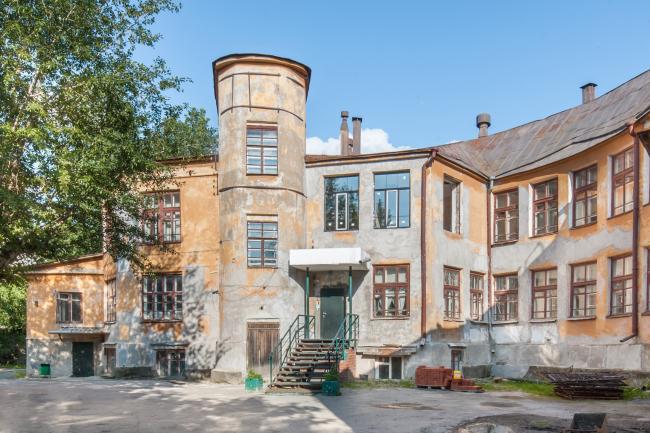 Городок юстиции. 1920-е годы. «Дом-улитка», бывший детский сад © Денис Есаков