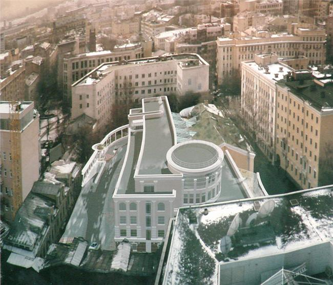 «Усадьба -центр» (3 очередь), Вознесенский переулок
