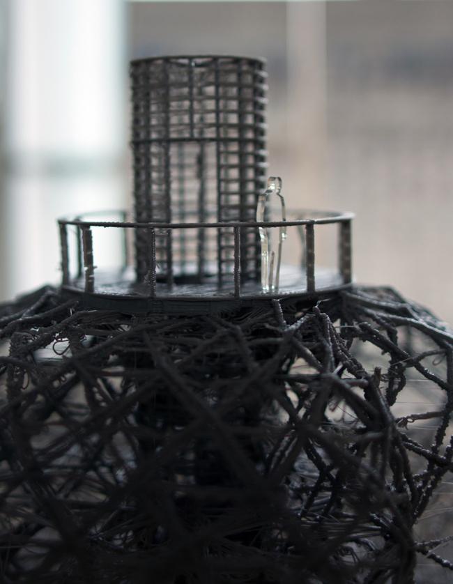 Фрагмент макета башни Мартина Райниша. Фото Любови Игнатушко