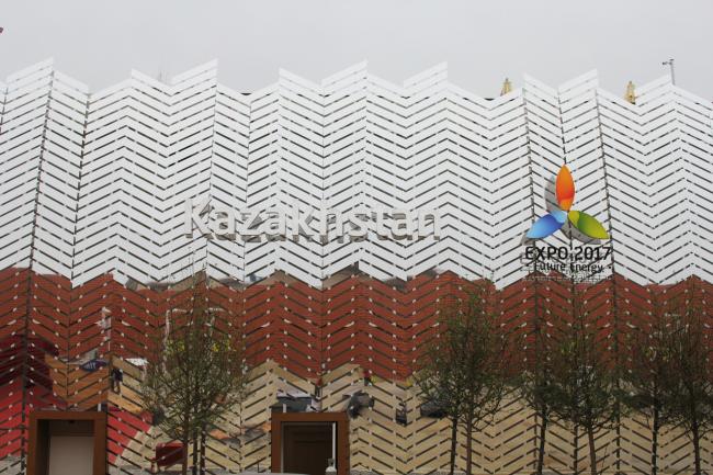 Павильон Казахстана. Фотография © Юлия Тарабарина