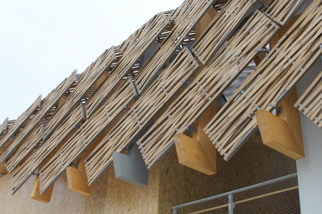 Павильон Китая. Авторы: Университ Цинхуа, Циншаньский институт окружающей среды, архитектуры и дизайна в Пекине. Фотография © Юлия Тарабарина