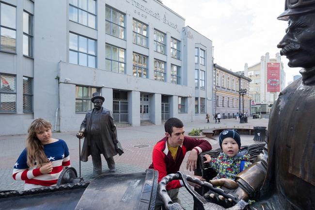 Иван Баан. Фотография из серии «Екатеринбург», выполненная к выставке «Надежда. Российские промышленные города глазами художников» © Iwan Baan. Предоставлено автором