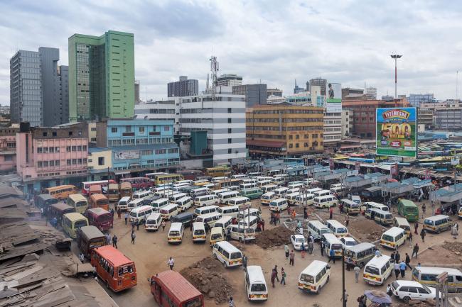 Иван Баан. Найроби © Iwan Baan. Предоставлено автором