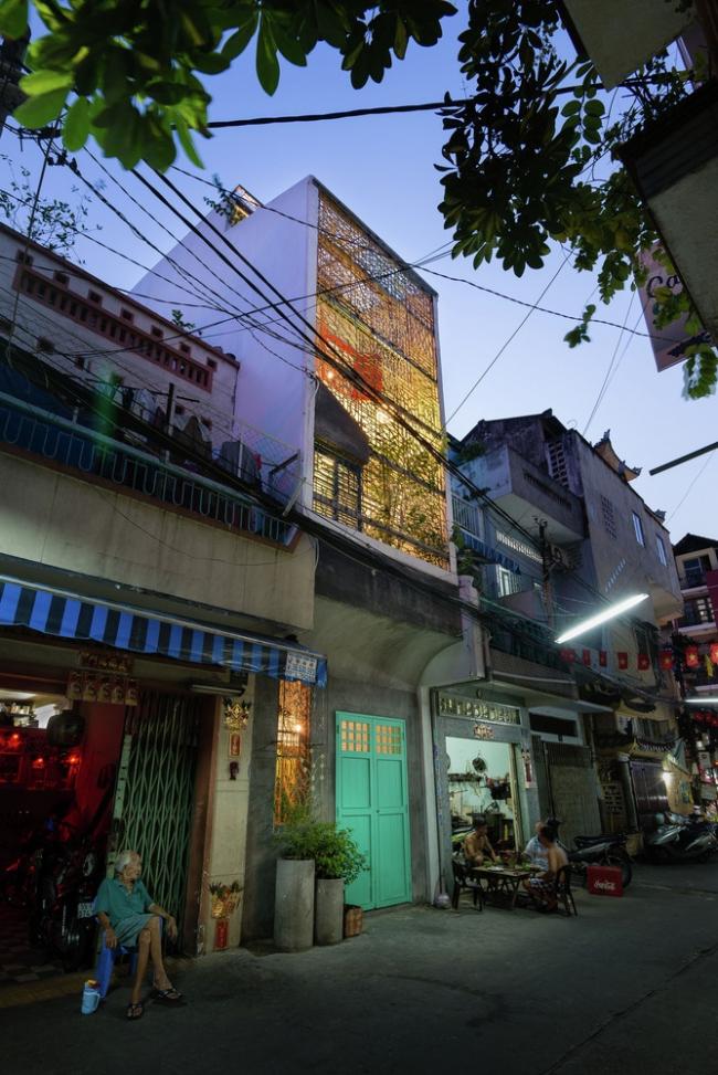 Сайгон-хаус (Вьетнам). a21studio. Изображение предоставлено WAF