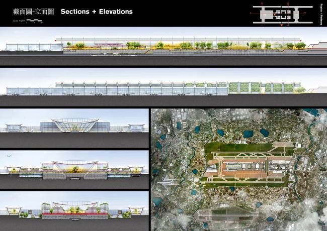 Проект Foster + Partners. 3-е место. Изображение с сайта www.t3.com.tw