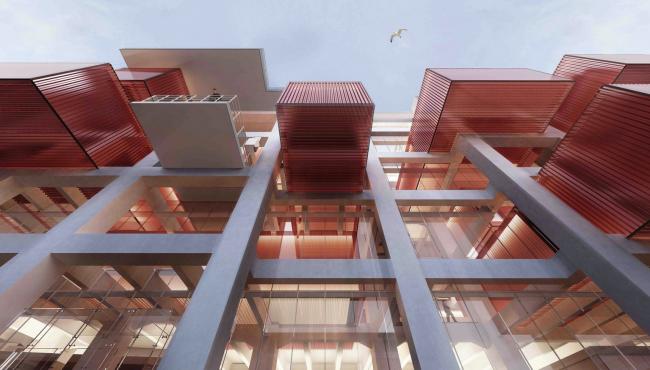 Музей живописи и скульптуры (Турция). Emre Arolat Architects. Изображение предоставлено WAF