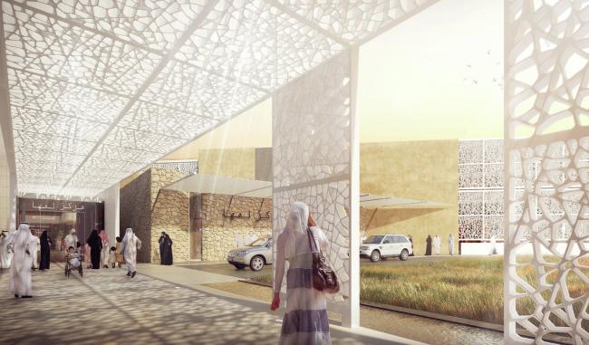 Центр Al Maha (Катар). HDR Rice Daubney. Изображение предоставлено WAF