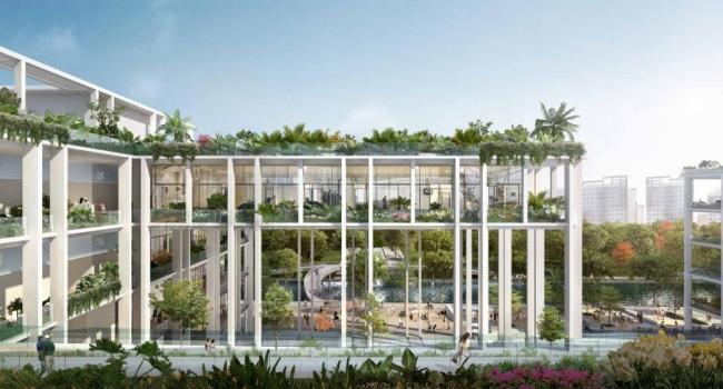 Парк в Пунголе (Сингапур). Serie + Multiply Consultants. Изображение предоставлено WAF