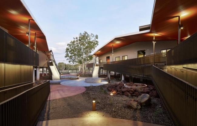 Дом престарелых Walumba (Австралия). iredale pedersen hook architects. Изображение предоставлено WAF