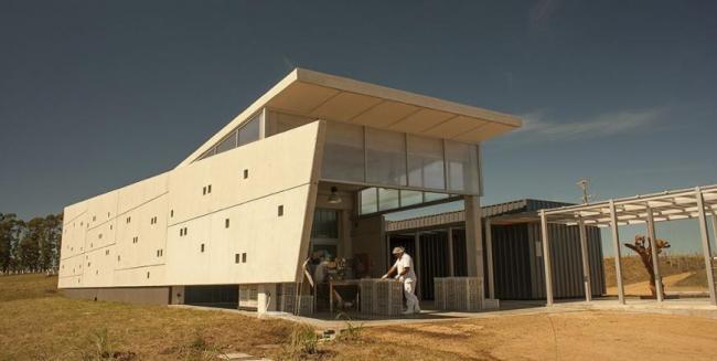 Оливковая фабрика (Уругвай).  Marcelo Daglio Arquitectos. Изображение предоставлено WAF