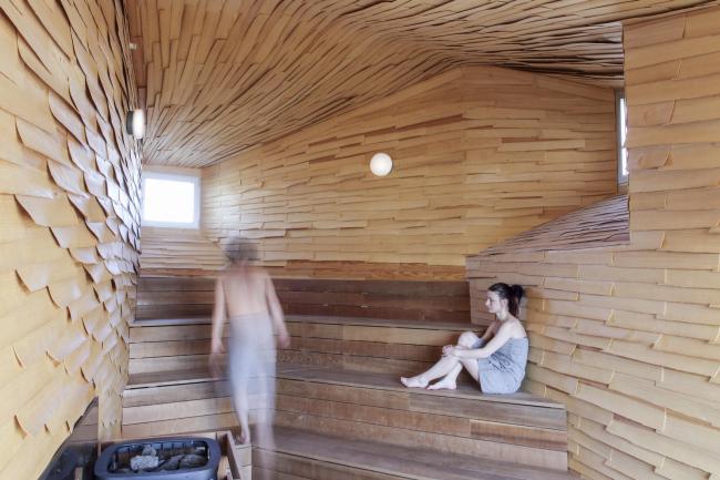 Комплекс Bathing Culture. Сауна © raumlabor_berlin