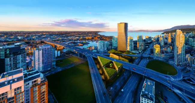 Ванкувер Хаус (Канада). BIG – Bjarke Ingels Group. Изображение предоставлено WAF