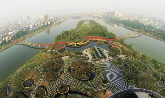 Парк Яньвэйчжоу (Цзиньхуа, Китай). Turenscape. Изображение предоставлено WAF