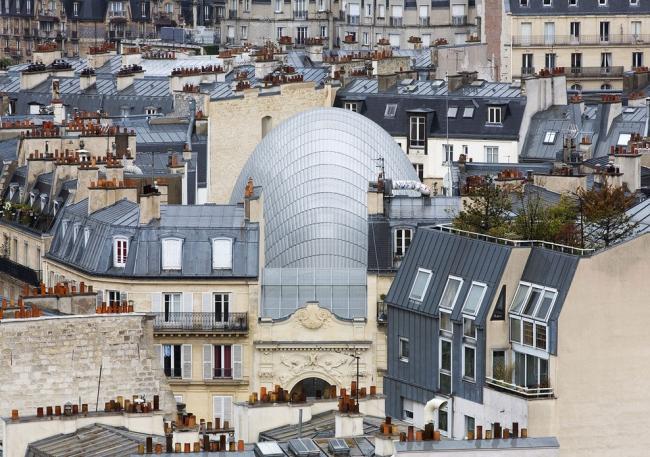 Фонд Pathé. Renzo Piano Building Workshop © Michel Denancé