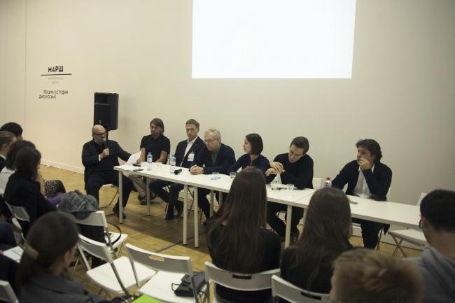 Дискуссия «Перспективы развития архитектурного образования в стране» © Анна Берг
