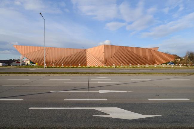 Музей огня в Жорах © Tomasz Zakrzewski / archifolio. Предоставлено OVO Grabczewscy Architekci