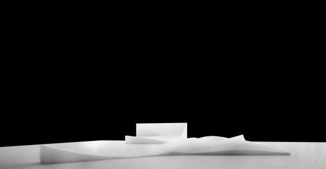 Проект транспортно-пересадочного узла «Павелецкая». Макет, форма. 2015 © Архитектурное бюро WALL